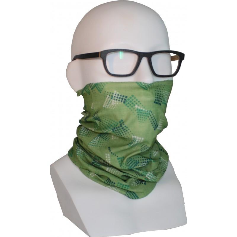 """Schlauch-""""Bandana""""-Maske, PSA-BAN-16, grün"""